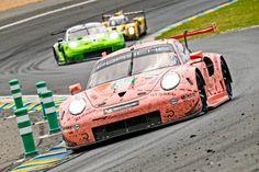 Porsche celebrates double victory at Le Mans marathon Porsche 911 Rsr, Gt Cars, Race Cars, Aston Martin Dbr9, Subaru Impreza Wrc, Le Mans 24, Martini Racing, Lancia Delta, Mclaren F1