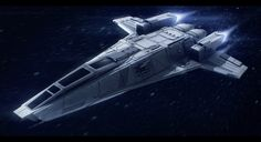 Hedgehog-class interstellar tactical gunship by Shoguneagle.deviantart.com on @DeviantArt