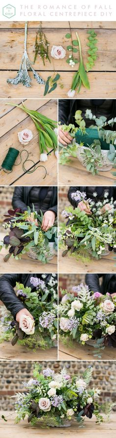 The Romance of Fall Floral Centrepiece DIY by Anneli Marinovich (11)