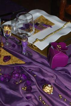 Deco Table, Baroque, Blog, Purple, Home Made, Blogging, Viola