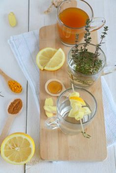 Thee tegen verkoudheid Juice Smoothie, Fruit Smoothies, Healthy Drinks, Healthy Recipes, Recipes From Heaven, What To Cook, High Tea, I Foods, Love Food