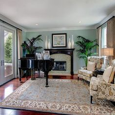 Living Room:Rugs Ideas For Living Room Decor For Stunning Interior! Rugs Ideas For Traditional Living Room Design Piano Living Rooms, Living Room Area Rugs, Piano Room, Formal Living Rooms, Living Room Decor, Room Rugs, Dining Room, Family Room Curtains, Transitional Living Rooms