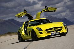 Revealed in 2010, the Mercedes SLS AMG E-Cell prototype laid way for the limited production Mercedes SLS AMG Electric Drive