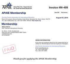 APAIE, the Asia-Pacific Association for International Education, is an international organization whose goal is to activate and reinforce the internationalization of higher education in the Asia-Pacific region and around the world, and to engage the professional challenges of international education.