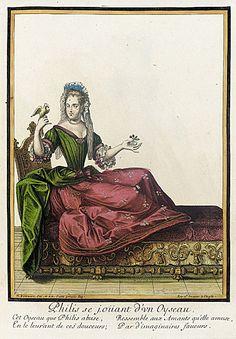 1682 Lady with a bird