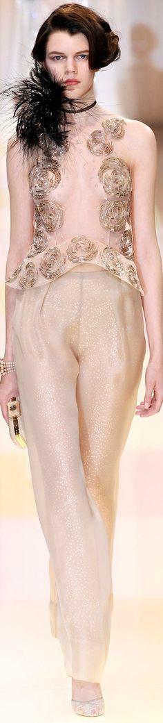Armani Privé Fall 2013 Couture Collection
