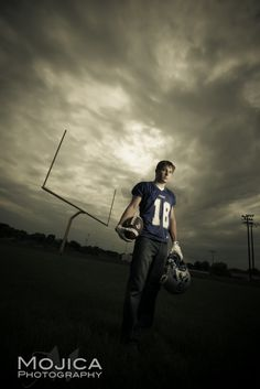Senior Photography Session: football