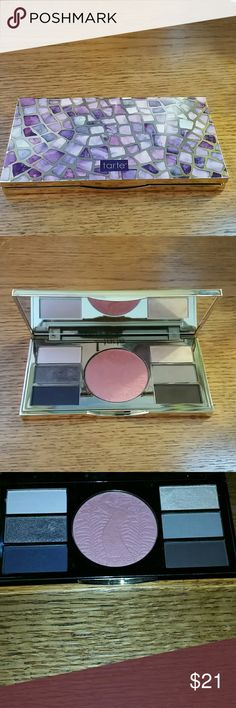 Tarte pallette Be your own tarte it pallette by Tarte Cosmetics. Used once it twice. Great condition. First 2 photos are without flash. Last 2 are with flash. tarte Makeup Eyeshadow