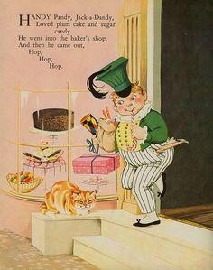1965 Dean's Gift Book of Nursery Rhymes children's book, illustrated by Janet & Anne Grahame Johnstone. Nursery Rhymes Poems, Rhymes For Kids, Vintage Nursery, Children's Literature, Book Gifts, Book Illustration, Childrens Books, Illustrators, Fairy Tales