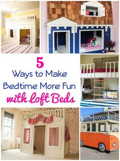 DIY Home Ideas | Make bedtime fun with one of these five UH-mazing loft beds!