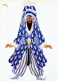 Мстительный султан 1922. Леон Бакст