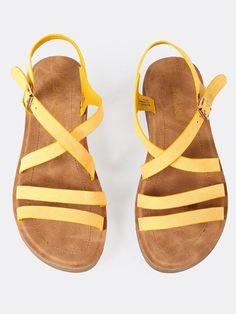 8bfbfeb84a5ab Strappy Sling Back Sandal -SheIn(Sheinside) Low Heels