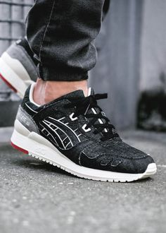 Asics Gel Lyte III 'Okayama Denim' || Follow @filetlondon for more street wear style #filetclothing