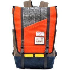 harris tweed masterpiece backpack