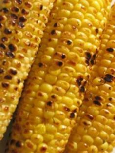 Corn On The Cob Grilling Techniques Corn Recipes, Whole Food Recipes, Dinner Recipes, Grilling Recipes, Cooking Recipes, Non Processed Foods, Grilling Sides, Grill Time, Holiday Side Dishes