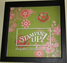 Stampin' Up Logo - idea for Make It
