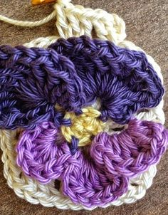 Todo crochet: Flor