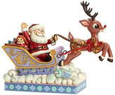 jim shore-jim shore rudolph pulling sleigh collectible figurine. Free Ship $99+. Jim Shore Rudolph Pulling Sleigh Collectible Figurine $65