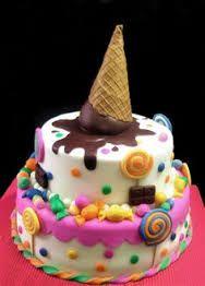 cute colorful cake girl - Google keresés