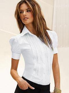 Formas de combinar una camisa blanca