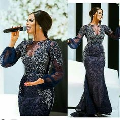 If there is one element that is always present in nigeria fashion,it is glorious Aso Ebi styles. African Dresses For Women, African Attire, African Wear, African Fashion Dresses, Dinner Gowns, Evening Dresses, Lace Dress Styles, Engagement Dresses, Aso Ebi Styles