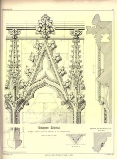 Gothic ornaments, being a series of examples of...