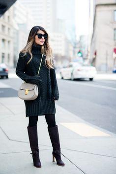 Pam Hetlinger Sweater and Skirt Combinations
