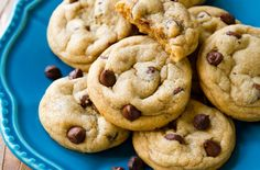 chocolate chip cookies are my favorite food because me, my grandma, and my sister always make homemade cookies together and have such a fun time!