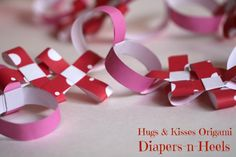 xx-oo-origami-4xx-oo-origami - Hugs and Kisses Origami - madewithHAPPY.com - paper valentines garland