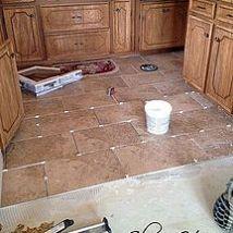 DIY Tile Floor -- The Mistake You Don't Wanna Make!