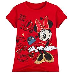 Fashion Finds Minnie Mouse Tee for Girls