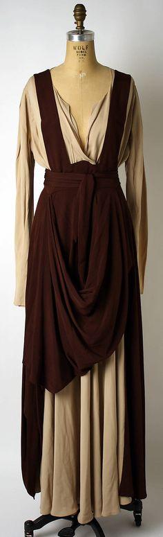 Evening dress Valentina (American, born Russia, 1899–1989) Date: ca. 1940 Culture: American