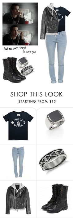 """""""Kai Parker - tvd / the vampire diaries"""" by shadyannon ❤ liked on Polyvore featuring John Hardy, Blue Nile, Dsquared2 and yeswalker"""