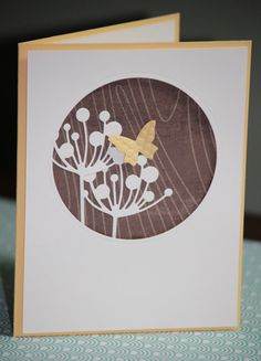 One Handmade Congratulations Card Flowers by strandedpaper on Etsy,