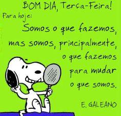 Muito bom dia.  Hoje é um bom dia para mudar o que somos.  http://www.tiagoraferreira.com/oportunidade/novorumo2-0/ #bomdia #tiagoferreira #tercafeira #refletir #fazer #mudar