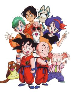 The Dragon Ball Gang