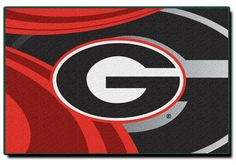 """Use this Exclusive coupon code: PINFIVE to receive an additional 5% off the University of Georgia Cosmic 39"""" x 59"""" Rug at sportsfansplus.com"""