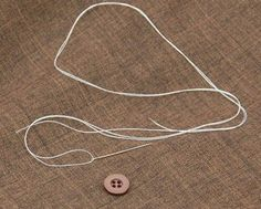 Learn how to sew a button quickly and correctly with this photo guide.