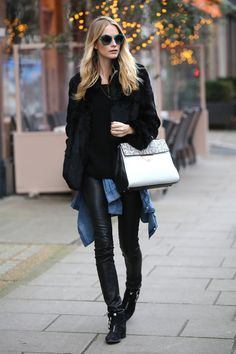 How to Stay Warm in Style This Winter   Poppy Delevingne   Harper's Bazaar