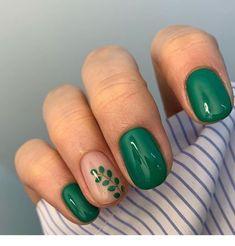 Spring nails nail designs 2019 – page 148 of 200 – nagel-design-bilder. Orange Nails, Purple Nails, Green Nails, White Nails, Glitter Nails, Green Nail Art, Ongles Bling Bling, Nails Gelish, Nagellack Trends