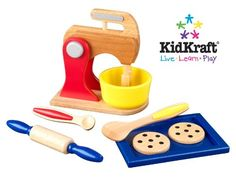 KidKraft Primary Baking Set * This is an Amazon Affiliate link. For more information, visit image link.