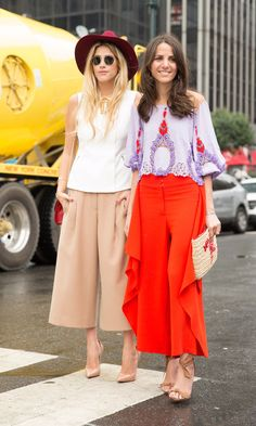 Everyone's Loving This Street Style Trend From #NYFW  #fashion #shopping
