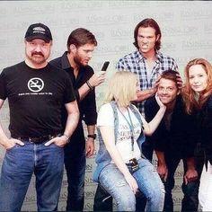 Supernatural - The Crazy Cast. #Supernatural #SPN #TV_Show
