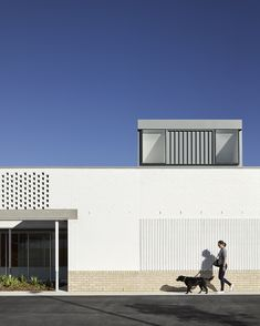 Northlakes Vet Hospital — Vokes and Peters Hospital Architecture, Architecture Awards, Commercial Architecture, Architecture Design, Building Exterior, Brickwork, Dream Big, Facade, House Design
