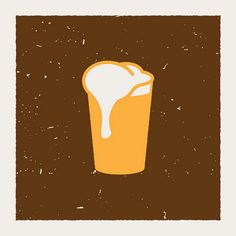 Beer Icon by Aesthetic Apparatus Graphic Art, Graphic Design, Beer Art, Call Art, Beer Festival, Cool Posters, Poster On, Wall Collage, Tech Accessories