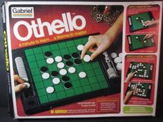 Othello Strategy Game by Gabriel by jessamyjay on Etsy Othello Game, Works Of Shakespeare, Gaming, Game Theory, Traditional Games, Family Game Night, Strategy Games, Vintage Branding, Childrens Party
