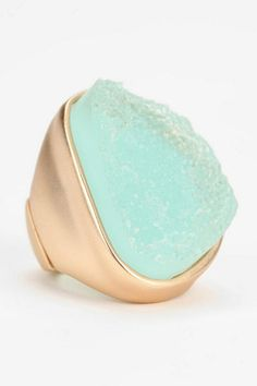 Sea Foam Crystal Ring, $16, available at Urban Outfitters.