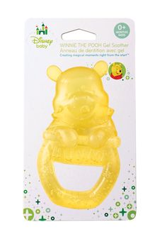 Disney Baby Gel Soother, Winnie The Pooh. Features the loveable Winnie the pooh. Fun Winnie the pooh shape and bright yellow color help relieve teething pain. Great for girls and boys. Disney Baby Clothes, Baby Disney, Baby Gel, Nuk Pacifier, Pacifiers, Baby Shower Gifts, Baby Gifts, Winnie The Pooh Nursery, Baby Lovey