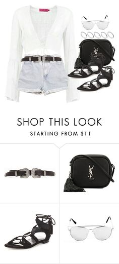 """""""#Style"""" by rosana-storyofmylife ❤ liked on Polyvore featuring Levi's, Yves Saint Laurent, Stuart Weitzman and ASOS"""