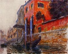 The Red House, Venice - Claude Monet, 1908. Private Collection http://www.newyorksocialdiary.com/node/1602/print #monet